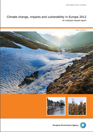 Climate change - impacts and vulnerability in Europe 2012.
