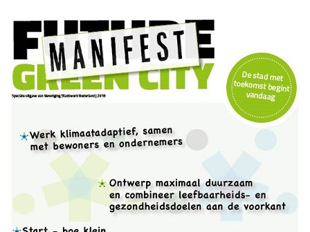 Afbeelding Manifest Future Green City