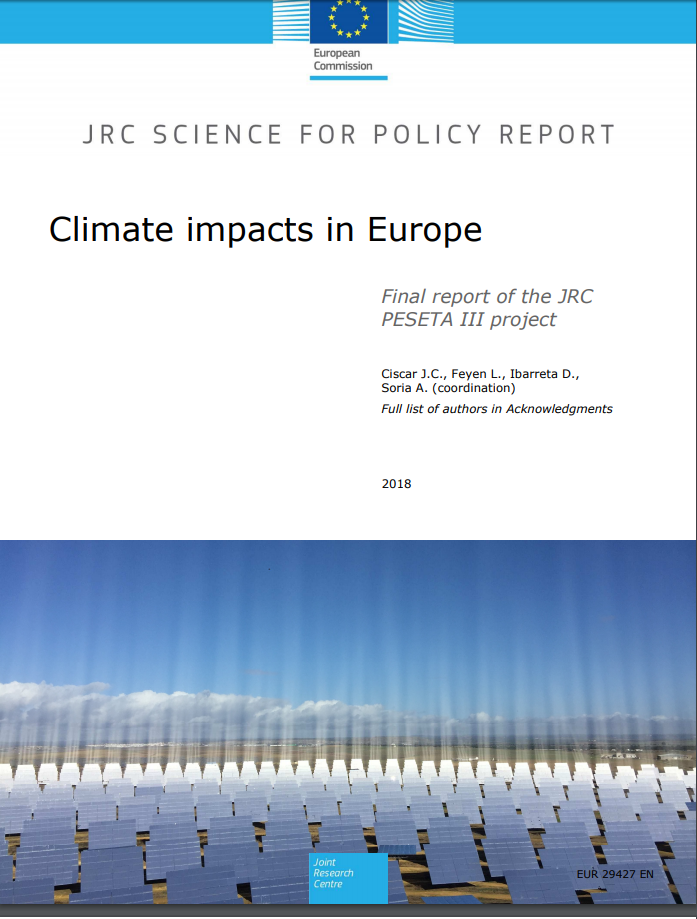 Climate impacts in Europe